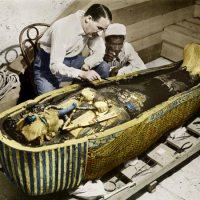 O descobridor do sarcófago de Tutancâmon