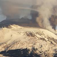 Etna, o poderoso vulcão europeu