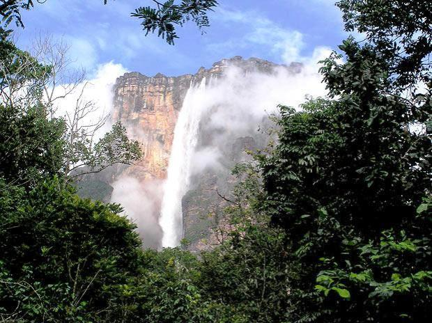 Cataratas do penhasco