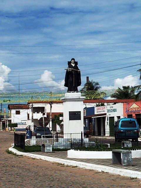 Povoado de Trairi, no Ceará