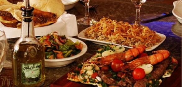 Uma farta mesa árabe