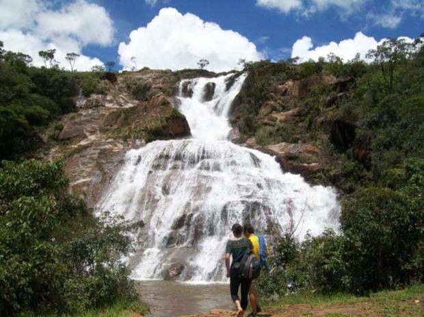Imagem da Cachoeira do Gandarela