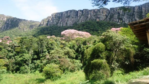 Vista de parte da Serra São José