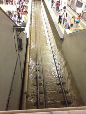 Metro da Saens Peña - drenagem pluvial da Tijuca