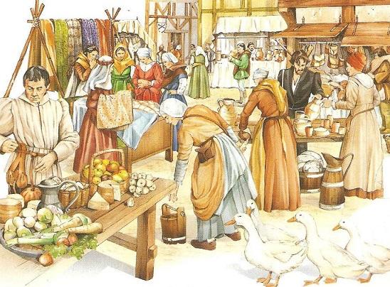 """As feiras livres eram os """"shoppings"""" dos burgueses"""