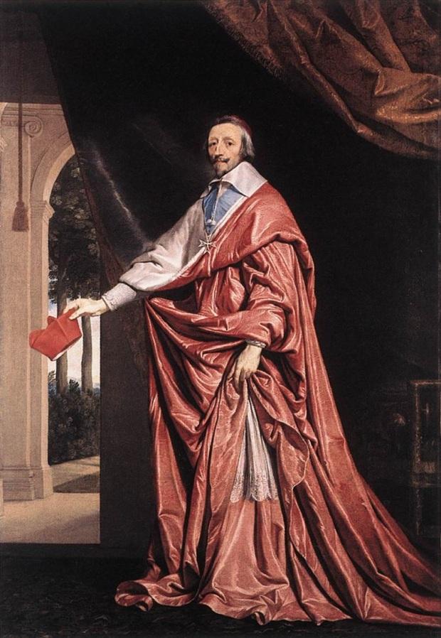 Cardeal Richelieu, o clero da nobreza francesa