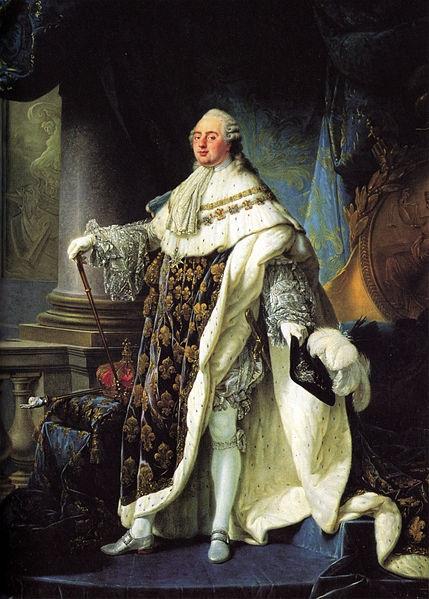 Rei Luís XVI, líder da nobreza francesa