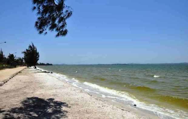Nessa época as praias da lagoa eram assim