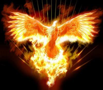 Imagem mitológica da Fênix