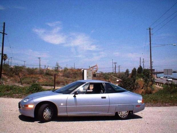 Este foi o orimeiro carro elétrico da GM