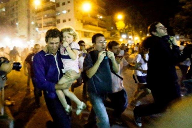 Imagem dos resultados da ação de vândalos – Rio de Janeiro