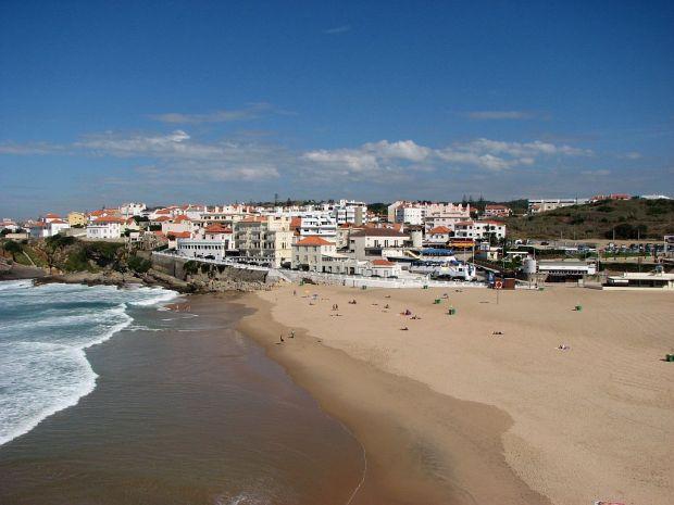 Vista panorâmica da Praia das Maçãs