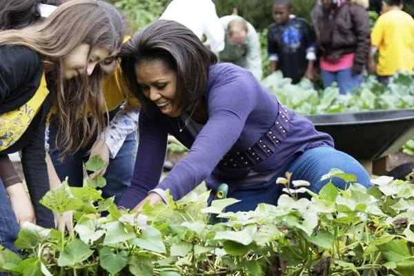 Michelle Obama está preocupadíssima com a mídia mundial