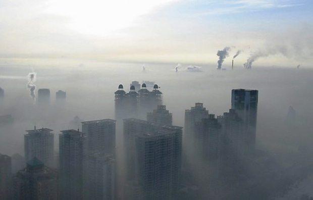 A alarmante poluição do ar na China