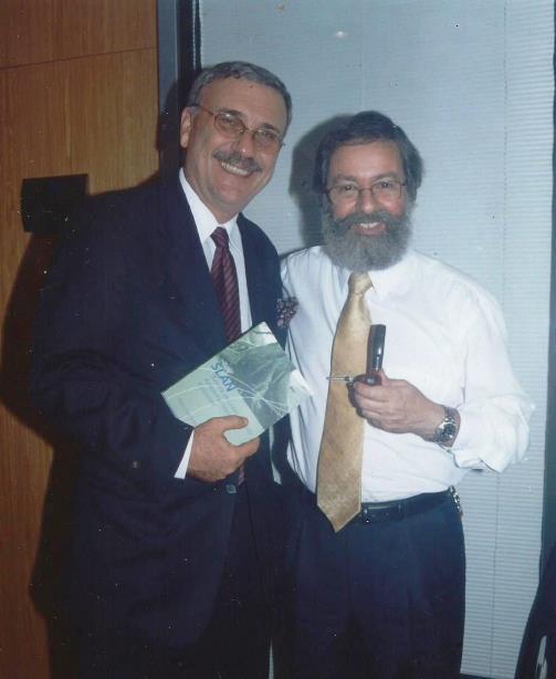 Lançamento do SLAN. Com Bianor Cavalcanti, Diretor Internacional da FGV