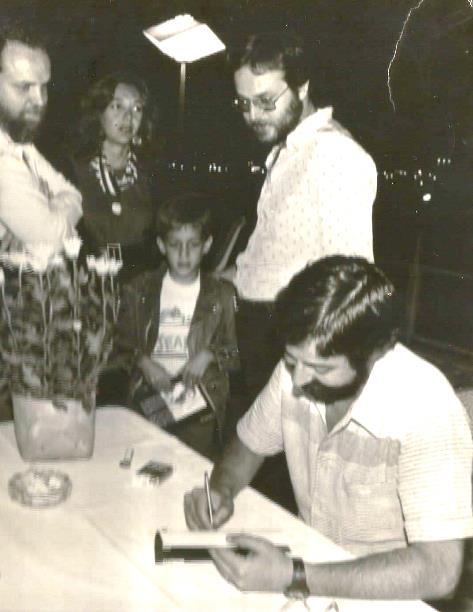 O Lapidador - lançamento em Brasília. Com Caio Marini e Marcelo Motta.