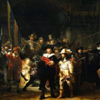 """Uma pintura de Rembrandt """"ao vivo"""""""