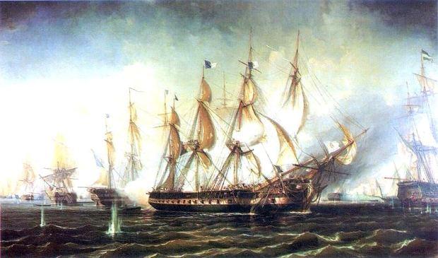 A importante batalha do Cabo de São Vicente, em 1833