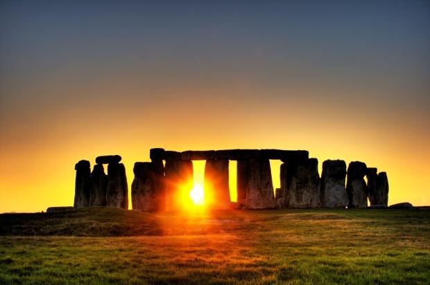 As pedras de Stonehenge, crédito a Simon Wakefield
