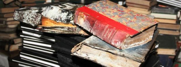 A desgraça de  meus livros embolorados