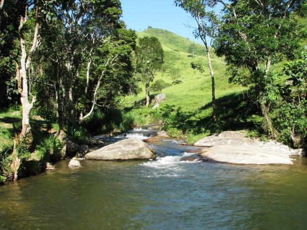 As águas da irrigação da Mantiqueira são volumosas e puras
