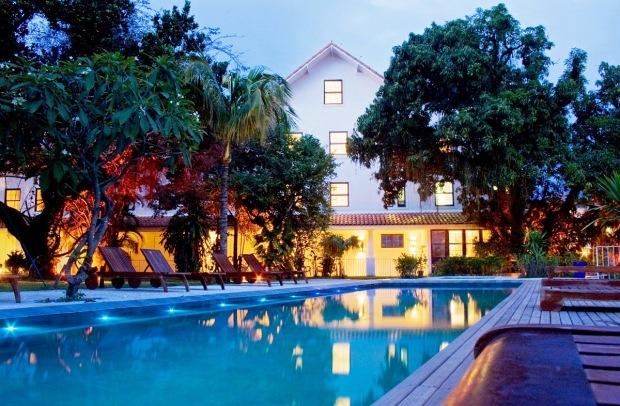 Imagem atual da sede do Lagoinha Country Club