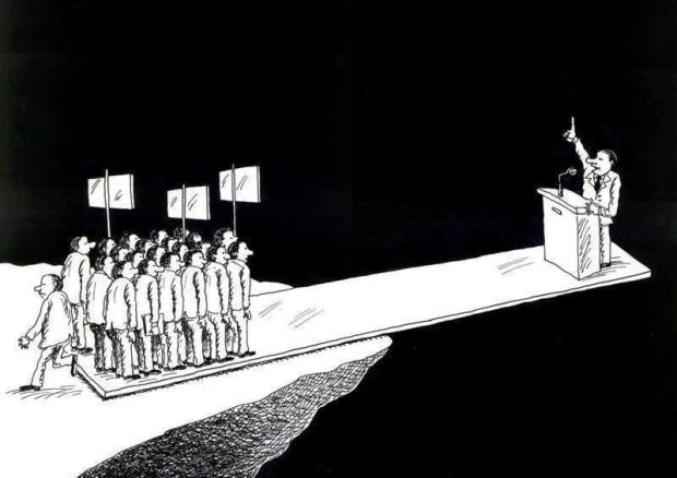 O analfabeto político do século 21 - Fiofó da Silva
