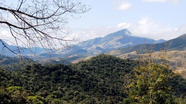 Vista da Serra da Mantiqueira