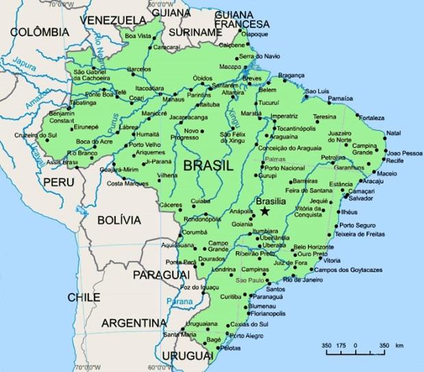Brasil e sua vizinhança