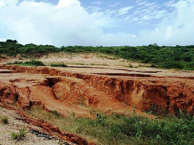 Desmatamento e destruição do solo