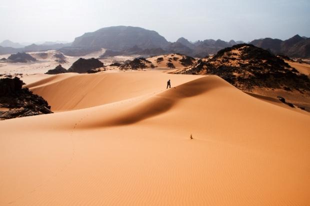 Deserto do Saara, por Luca Galuzzi, 2007