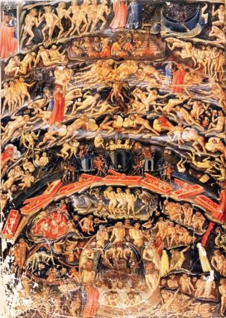 O Inferno, visto por Dante Alighieri