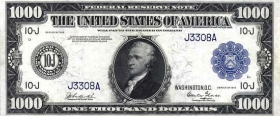 Querem bilhões de dólares. Quanto mais lavados, melhor (a nota é falsa).