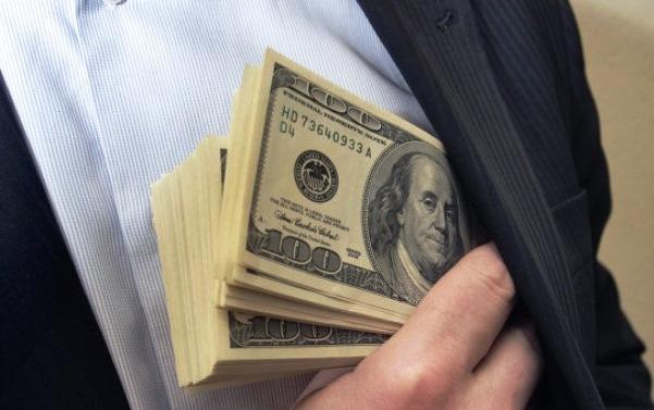 Grande parte do PIB nos bolsos da Corrupção