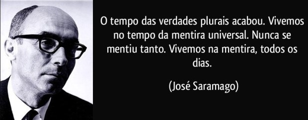 José Saramago e a Mentira Universal