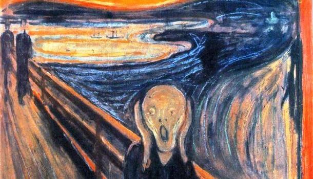 O Grito, de Edward Munch - Expressionismo Alemão
