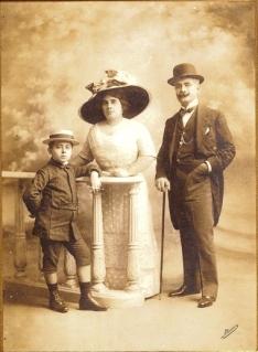 Erasmo e Euzélia, pais de João de Moura Macedo