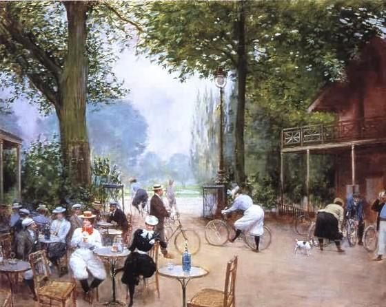 Paris, na pintura do impressionista Jean Béraud - Belle Époque