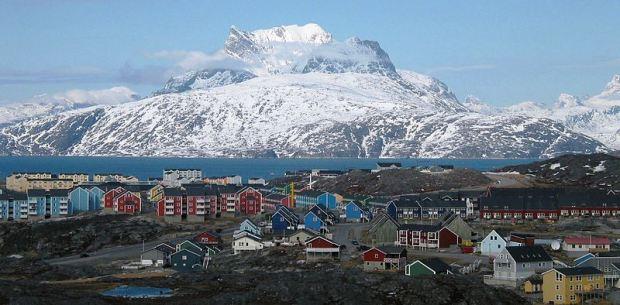Nuuk, a capital da Groenlândia
