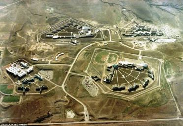 Imagem aérea da ADX Florence