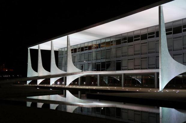Palácio do Planalto, inaugurado em 21 de abril de 1960