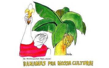 Bananas pra nossa cultura