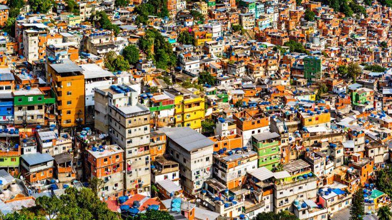 Favela da Rocinha, imagem da Antroposfera